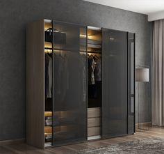 Wardrobe Interior Design, Wardrobe Door Designs, Walk In Closet Design, Wardrobe Design Bedroom, Closet Designs, Room Design Bedroom, Home Room Design, Bedroom Furniture Design, Girls Bedroom
