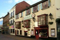 Punchinellos Nottingham Nottingham Pubs, Nottingham City Centre, Poland, Old Things, History, Architecture, Street, World, Empire