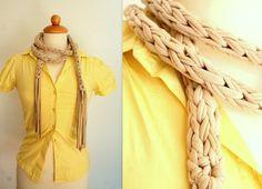 Macrame scarf