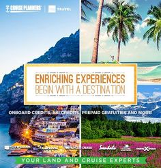 Everyone likes to get away from it all. But have you thought about getting away TO it all? Call me to book an enriching experience that will feed your soul. - http://ift.tt/1HQJd81