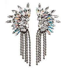 OKSANA II Earrings $420 (without the dangle balls would be better)