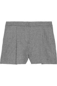 fall basic: houndstooth shorts