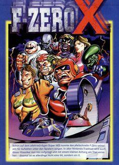 F-Zero X (1998)