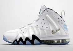 cheaper 0e0d9 aa792 The Nike Barkley Posite Max USA release date is set for this week. The  crisp, summer-appropriate style sports a star-studded white Posite-and-leather  .