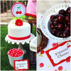 The TomKat Studio: {Photo Styling & Article for HGTV} Girl's Birthday Party Themes!