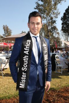 Mr South Africa 2014 Armand Du Plessis.