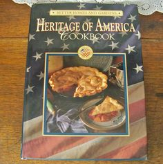 Vintage Cookbook Heritage of America Better Homes and Gardens 1993