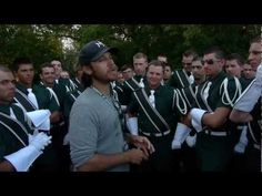 """Brass caption head, Brad Green gives a pep talk to the hornline before their first performance of the 2012 season at """"Drums on Parade"""" in Madison, WI. This is a teaser from the documentary film, """"Scouts Honor: Inside a Marching Brotherhood""""."""