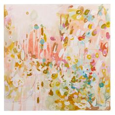 this Michelle Armas painting is lovely inspiration for an Easter celebration palette