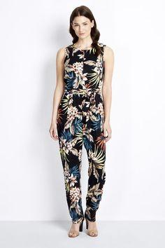 Tropical Woven Jumpsuit