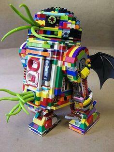 Tentacled lego c3po