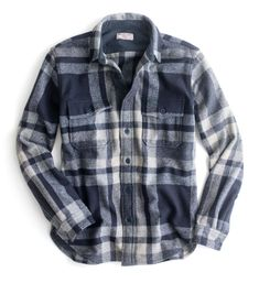 JCREW - Holidays, gift guide, warm winter flannel shirt, clothing, winter clothes