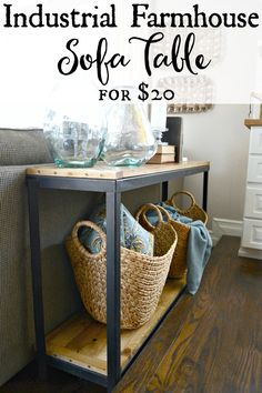 DIY Farmhouse Indust