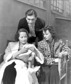 Vivien Leigh, Merle Oberon, and Laurence Olivier