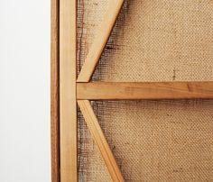 Cedar Burlap Screens