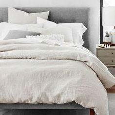 King 3pc Flax Linen Duvet Set … curated on LTK Baby Duvet, Kids Bedroom Designs, Interior Design Tips, Design Ideas, Design Projects, Starter Set, Linen Duvet, Cozy Bedroom, Master Bedroom