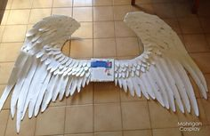 How to make angel wings out of craft foam
