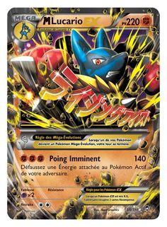 Carte Pokémon Mega M Lucario Ex - 220pv neuf et d'occasion