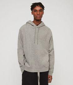 d5e7a58c ALLSAINTS UK: Men's New Arrivals - Shop Our Latest Styles Grey Hoodie, All  Saints