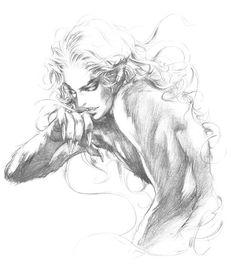 vampire killer : a castlevania gallery & translation resource Dark Fantasy, Fantasy Art, Character Inspiration, Character Art, Art Sketches, Art Drawings, Werewolf Girl, Werewolf Tattoo, Bastet