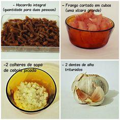 Meu Provador: NO FOGÃO apresenta: Macarrão integral com frango e molho de cream cheese light