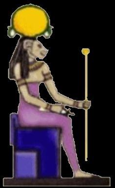 Las Revelaciones del Tarot: Tefnut - Dioses Egipcios