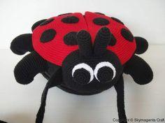Crochet Pattern - LADYBUG Sling Bag - PDF