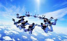 【F】スカイダイビング。人生で一度はやってみたい、。