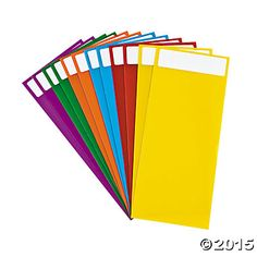 Organize your school or classroom library! Use these double-sided dividers to designate book genres or authors, or have students use them to indicate a book . Library Signage, Library Labels, Library Organization, Organization Ideas, Library Lesson Plans, Library Lessons, Library Ideas, Library Inspiration, Library Design