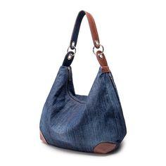 Online Shop Large Denim Handbags Women Bag Big Hobo Purses and Ladies Hand bags Jean Shopper Tote Luxury Designer Cross body Messenger Bag|Aliexpress Mobile