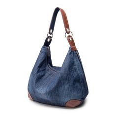 Online Shop Large Denim Handbags Women Bag Big Hobo Purses and Ladies Hand bags…