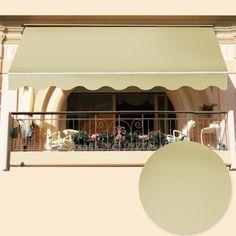 Justmoment TENDA DA SOLE AVVOLGIBILE FISSA IN ALLUMINIO ITACA 3X2 MT PORTA FINESTRA BALCONE - Pensiline e Tende da sole - Arredo Esterno - Casa & Giardino