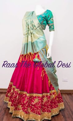 Lehenga Choli Wedding, Lehenga Gown, Designer Bridal Lehenga, Dress Indian Style, Indian Dresses, Indian Outfits, Indian Wear, Indian Clothes, Indian Wedding Gowns