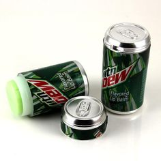 Mountain Dew-Flavored Lip Balm