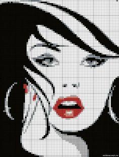 Brilliant Cross Stitch Embroidery Tips Ideas. Mesmerizing Cross Stitch Embroidery Tips Ideas. Cross Stitch Charts, Cross Stitch Designs, Cross Stitch Patterns, Cross Stitching, Cross Stitch Embroidery, Cross Stitch Silhouette, Tapestry Crochet, Hand Embroidery Patterns, Loom Patterns