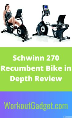 The Schwinn 270 Recumbent Bike is the top product in Schwinn's reclined bike collection. It's loaded with 29 preset workout programs