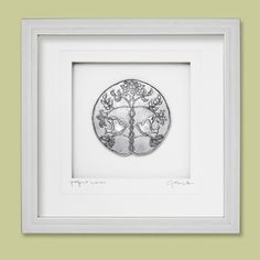 Antique Silver Wood Frame Cynthia Webb Designs Our Nest Pewter Wall Art