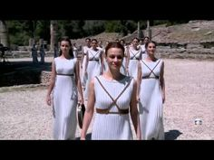 Lighting Ceremony in Olympia for Olympic games in Rio 2016 Samba, Rio 2016, Olympic Athletes, Olympic Games, Olympia, Tv, Lighting, Youtube, Greece