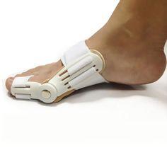 Nowy Stóp Pielęgnacja Stóp Kciuk Palucha Koślawego Pro Naprawiono Noc Szelki Do Skorygowania Codziennie Silikonowy Toe Big Kości ortopedyczne Pedicure urządzenie