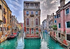 Venice, Italy. We'd love to shoot here the colors are beautiful.