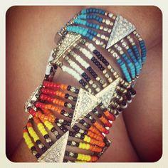 native beaded braclets Beaded Braclets, Beaded Jewelry, Handmade Jewelry, Bracelets, Native Beadwork, Native American Beadwork, Jewelry Crafts, Jewelry Ideas, Jewelry Accessories