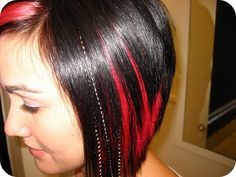THIS! I want this red back in my hair for fall! I miss my wild hair days! Maybe a couple of feather extensions too :)