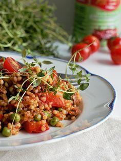 Ruokakonttuuri: Tomaattinen nyhtökauraohratto