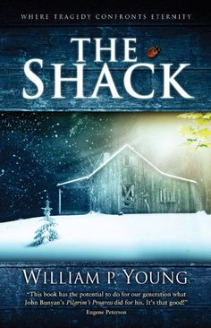 The Shack....I take issue with a few theology issued in this book, but overall I enjoyed this read. Very interesting. Compelling. Healing for hurts.