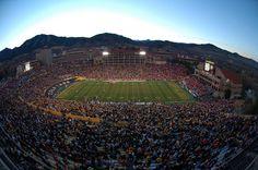 Folsom Field home to the Colorado Buffaloes. PAC-12