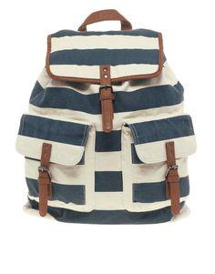 ASOS - River Island Block Stripe Backpack