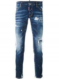 Dsquared2 Distressed Skinny Jeans Men is available in Dsquared Sale and  Dsquared Outlet online store including 040b87ab8ccb
