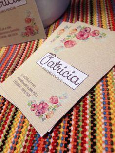 Cartão Patricia Manicure e Pedicure