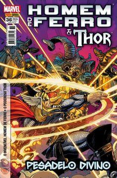 LIGA HQ - COMIC SHOP Homem de Ferro & Thor #36 - Thor - Marvel PARA OS NOSSOS HERÓIS NÃO HÁ DISTÂNCIA!!!