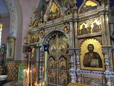 Pravoslavny Kostel Svateho Vladimira (church) -  Marianske Lazne Hot Springs, Czech Republic, Trip Advisor, Attraction, Castle, Painting, Temples, Bohemia, Spa Water